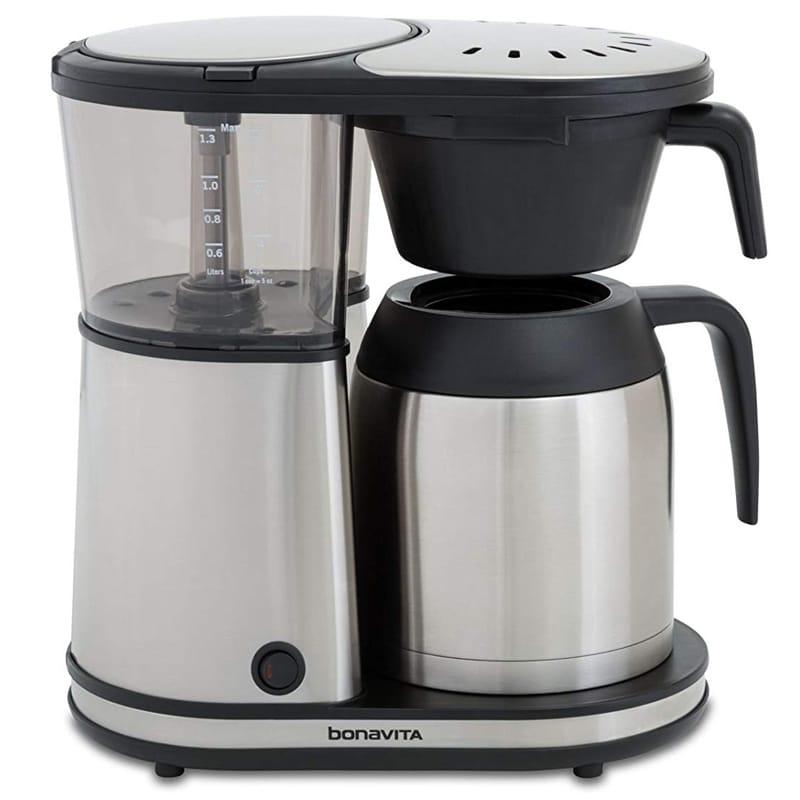 ボナビータ コーヒーメーカー 8カップ 1.3L ハンギングフィルター ステンレスカラフェ Bonavita BV1901TS 8-Cup Carafe Coffee Brewer 家電