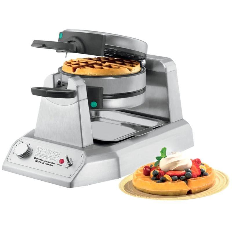 ダブルワッフルメーカー 業務品質 フッ素樹脂 Waring WW200 Double Belgian Waffle Iron / Maker 家電