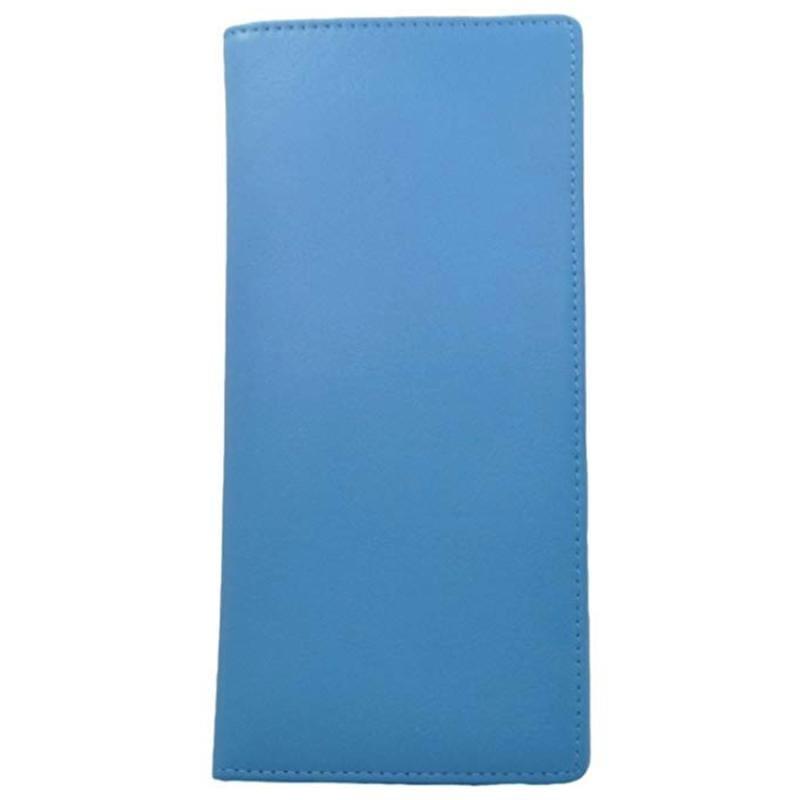 革製 パスポートケース 航空券 ID 現金 ロイスブルー Leather Ticket and Passport Holders Royce Blue