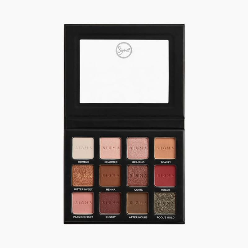 シグマ アイシャドウパレット 12色 Sigma WARM NEUTRALS VOLUME 2 EYESHADOW PALETTE