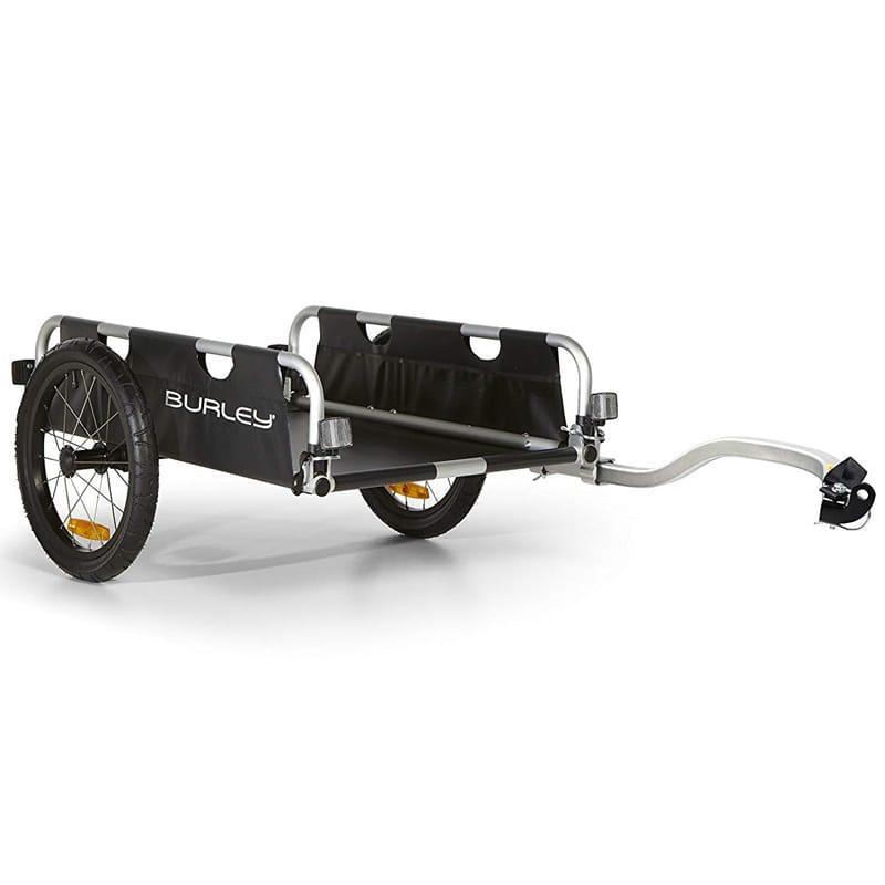 自転車用トレーラー 16インチタイヤ バーレー サイクルトレーラー フラットベッド Burley Design Flatbed, Black