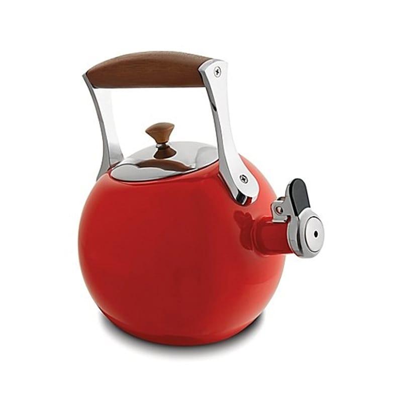 ケトル おしゃれ かわいい ナンベ ホーロー エナメル やかん 1.9L IH対応 Nambe Meridian 2 qt. Enameled Steel Tea Pot