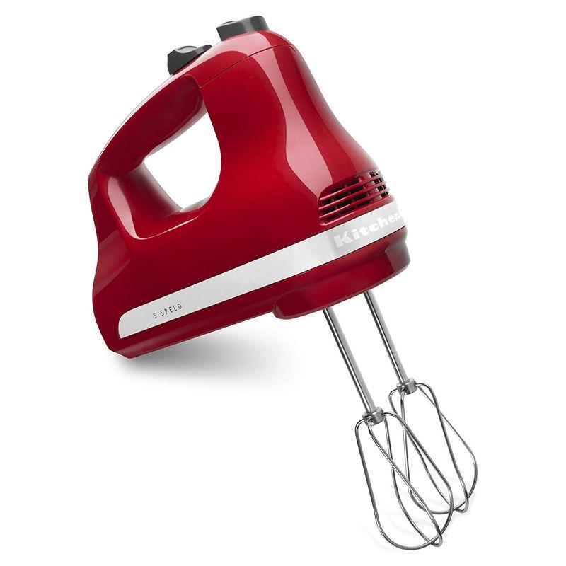 キッチンエイド ハンドミキサー 5スピード切替 レッド KitchenAid Ultra Power 5-Speed Hand Mixer Red 家電