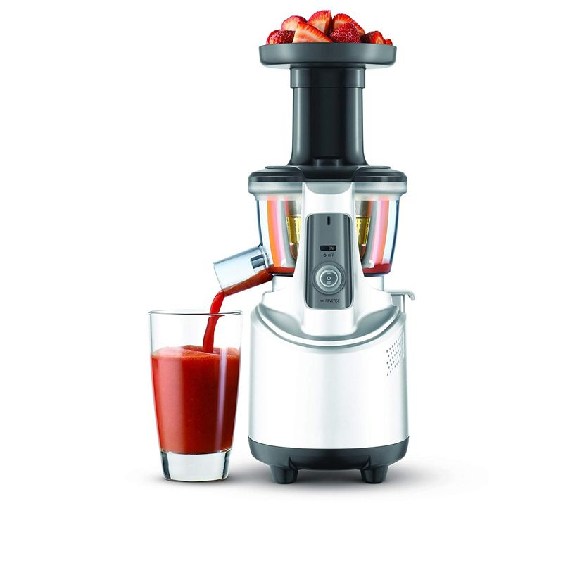 ブレビル スロージューサー Breville Fountain Crush Slow Juicer BJS600XL 家電