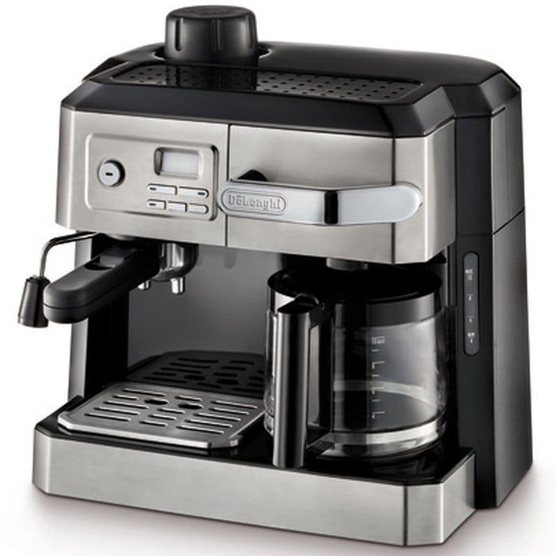 コーヒーメーカー デロンギ コンビネーション エスプレッソメーカー DeLonghi Combination Coffee & Espresso Maker 家電