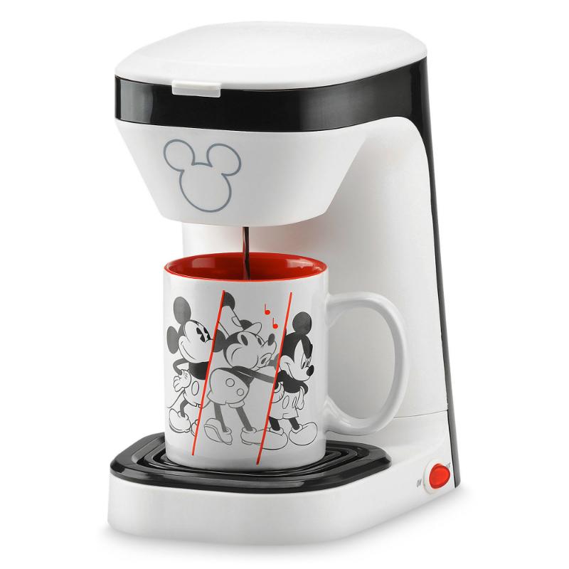 ディズニー ミッキーマウス 90周年記念シングルサーブ コーヒーメーカー Mickey Mouse 90th Anniversary Single Serve Coffee Maker 家電