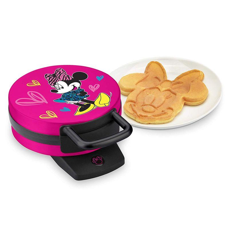 ディズニー ミニーマウス ワッフルメーカー Disney DMG-31 Minnie Mouse Waffle Maker, Pink 家電