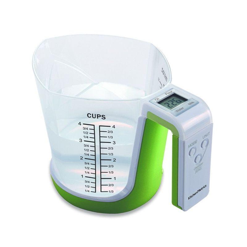 計量カップ型 デジタル キッチンスケール クッキングスケール はかり Digital Kitchen Food Scale and Measuring Cup