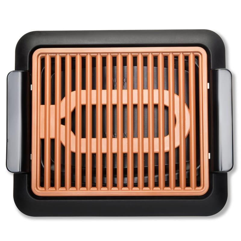電気グリル インドア スモークレス セラミック プレート取り外し 煙が少ない Gotham Steel Indoor Smokeless Electric Grill 1618 家電