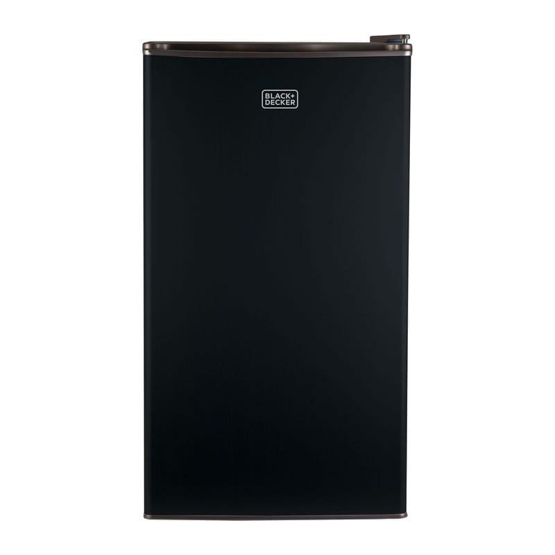 ブラック・アンド・デッカー コンパクト 冷蔵庫 冷凍庫付 91L 黒 Black + Decker 3.2 cu. ft. Compact Refrigerator with Freezer BCRK32B Black 家電