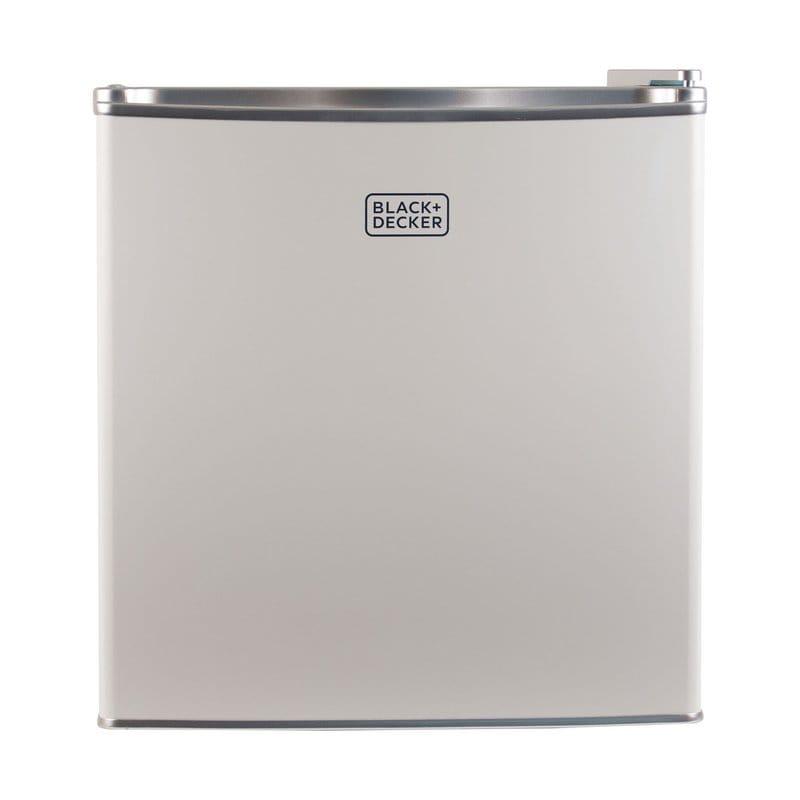 冷蔵庫 冷凍庫付 ブラック・アンド・デッカー コンパクト 48L 白 Black + Decker 1.7 cu. ft. Compact Refrigerator with Freezer White 家電