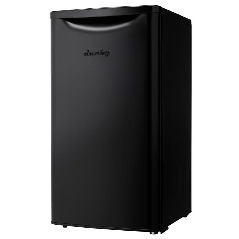 冷蔵庫 コンパクト 1ドア ダンビー 96L ブラック Danby Contemporary Classic Essential 3.3 cu. ft. Compact/Mini Refrigerator DAR033A6BDB 家電【代引不可】