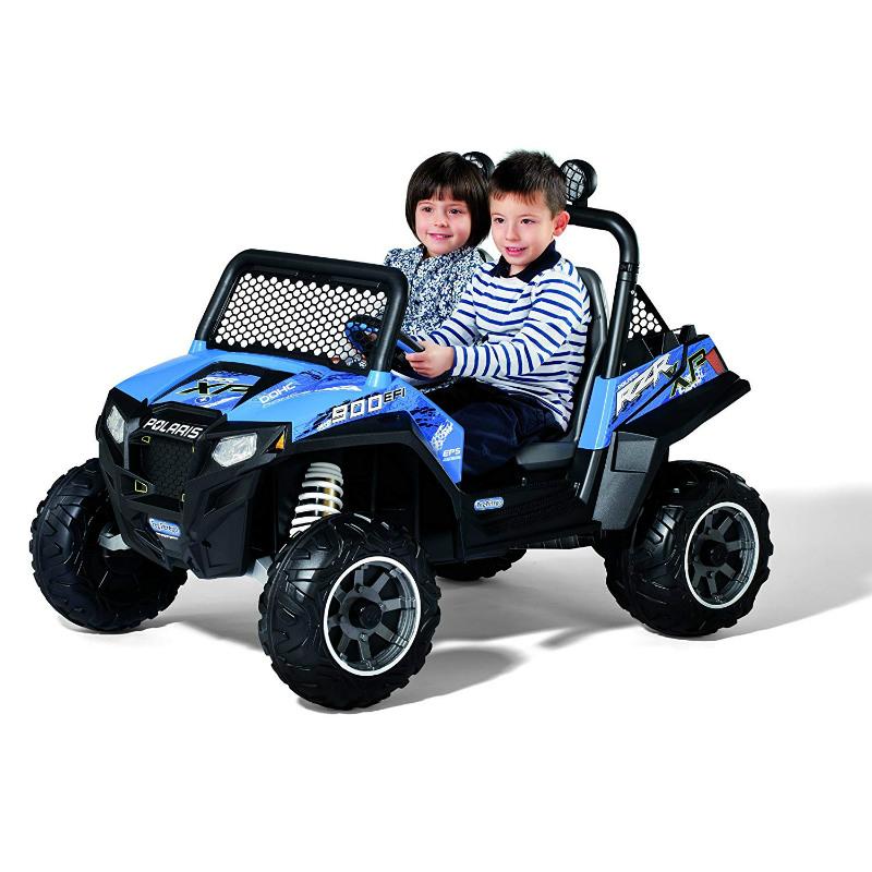子供用 電動自動車 ペグ ペレーゴ 12ボルト バッテリー付 対象年齢3才~8才 電気自動車 電動カー Peg Perego Polaris Ranger RZR 900 12-Volt Battery-Powered Ride-On Blue 【組立要】【代引不可】