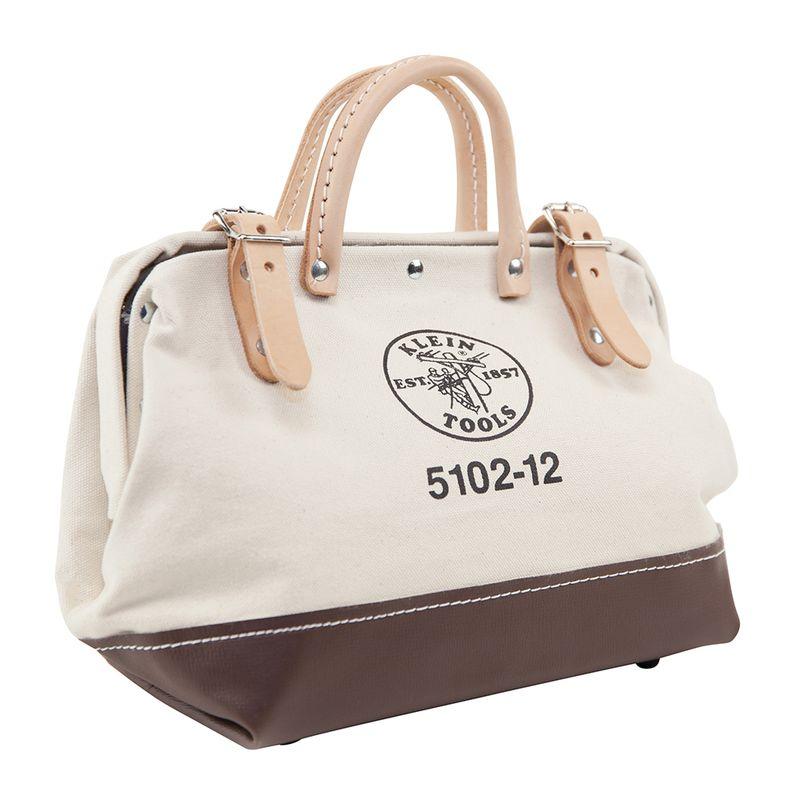 工具バッグ クラインツール キャンバス ツールバッグ 工具箱 30cm アメリカ製 Kleintools Canvas Tool Bag, 12-Inch 5102-12