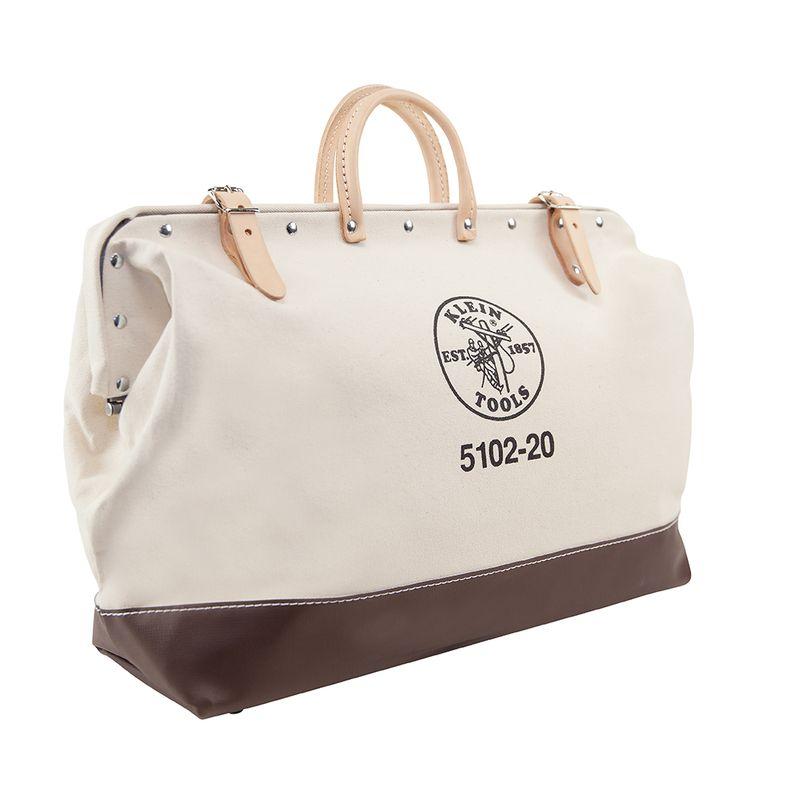 工具バッグ クラインツール キャンバス ツールバッグ 工具箱 50cm アメリカ製 Kleintools Tool Bag, No. 8 Canvas, 20-Inch 5102-20