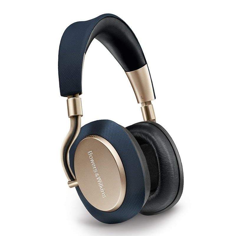 B&W ワイヤレス ヘッドホン バウワース アンド ウィルキンス ゴールド ノイズキャンセリング Bowers & Wilkins PX Active Noise Cancelling Wireless Headphones, Best-in-class Sound, Soft Gold