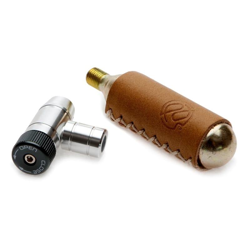 ボンベアダプターヘッド バルブタイプ CO2ボンベ用 米式/仏式兼用 自転車 空気入れ ロードバイク マウンテンバイク MTB pdw Shiny Object fits on both Presta and Schrader valves