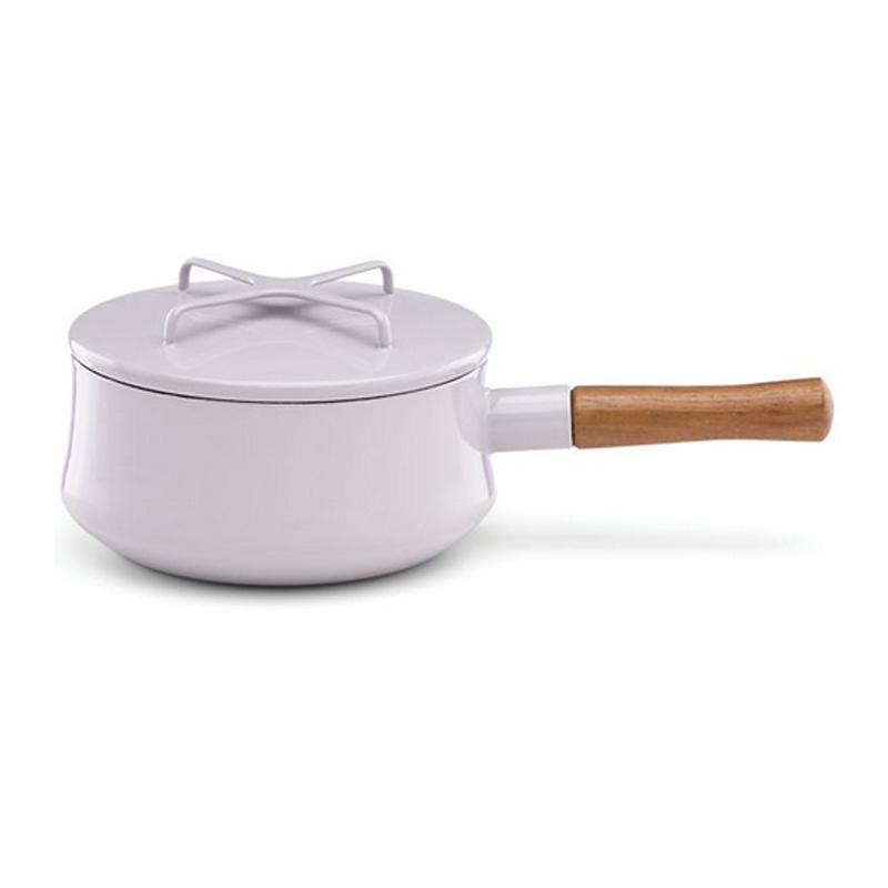 ダンスク 片手鍋 ソースパン コベンスタイル フタ付 1.9L ラベンダー パープル 薄紫 パステル エナメル ホーロー DANSK Kobenstyle Lavender 2-qt Saucepan w/Lid