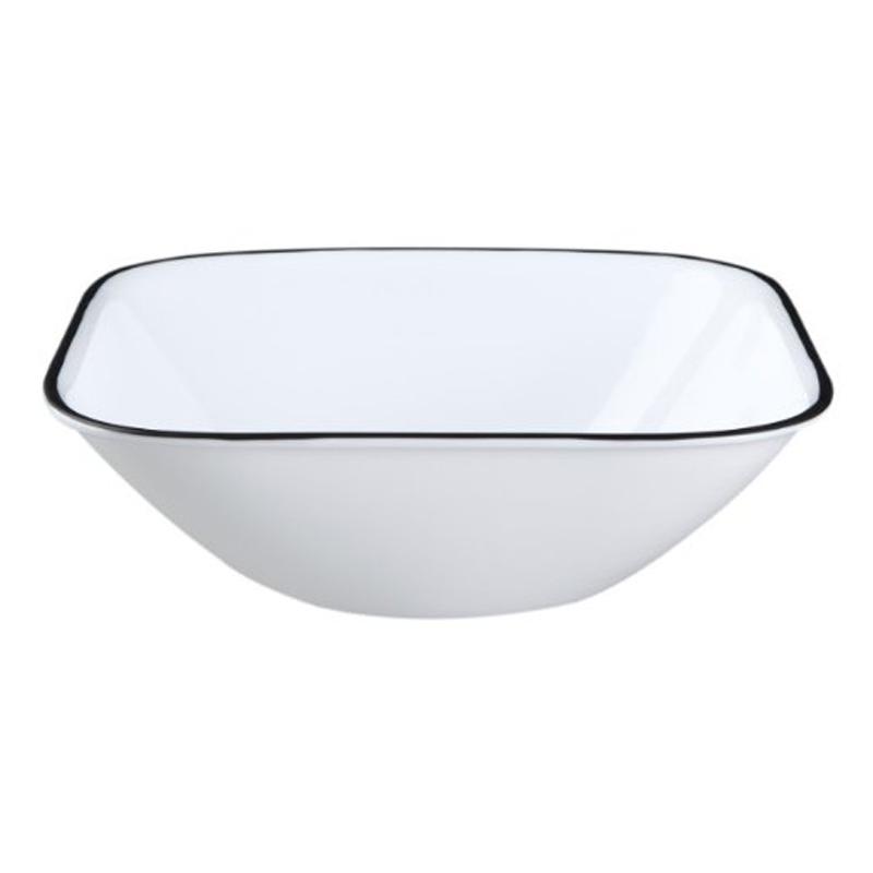 コレール スクエアボウル 6個セット シンプルライン 食器 Corelle Square Simple Lines Bowl Set