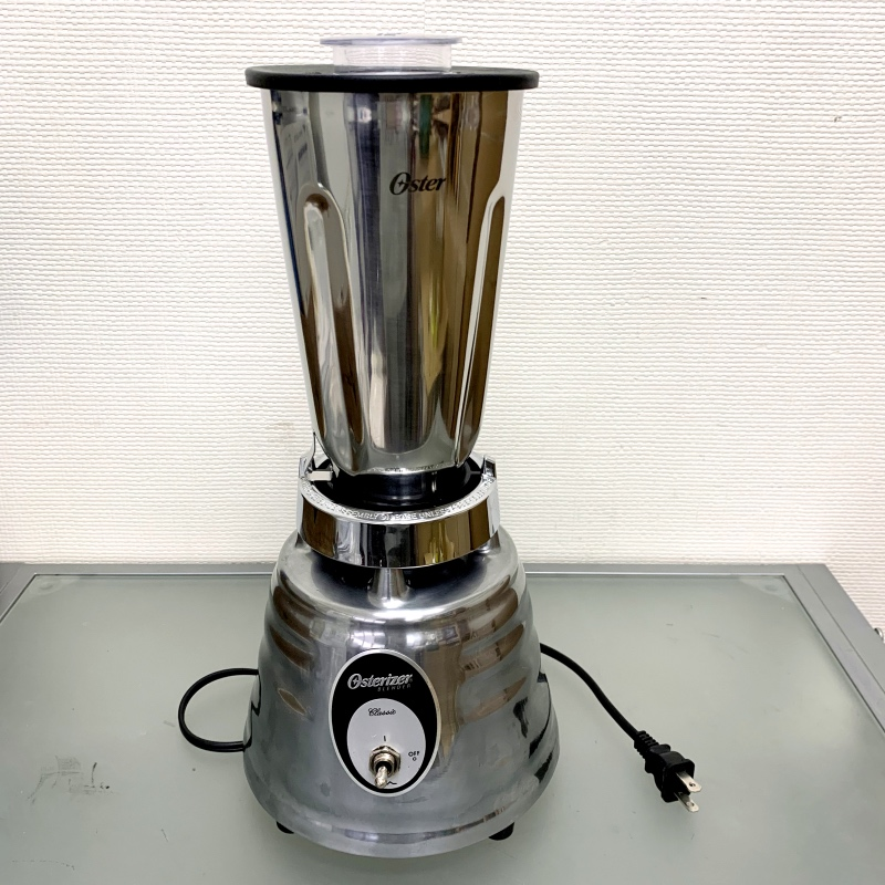 オスター オスタライザー ブレンダー ミキサー 4093 ステンレスジャー ツヤなし Oster Classic Beehive Blender 4093 Stainless Jar【日本語説明書付】 家電