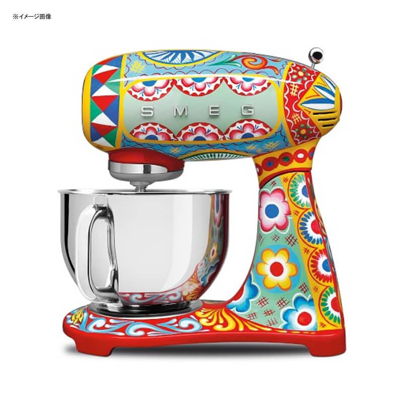 スメッグ ドルチェ&ガッバーナ スタンドミキサー イタリア製 Smeg Dolce & Gabbana Stand Mixer SMF01DGUS 家電