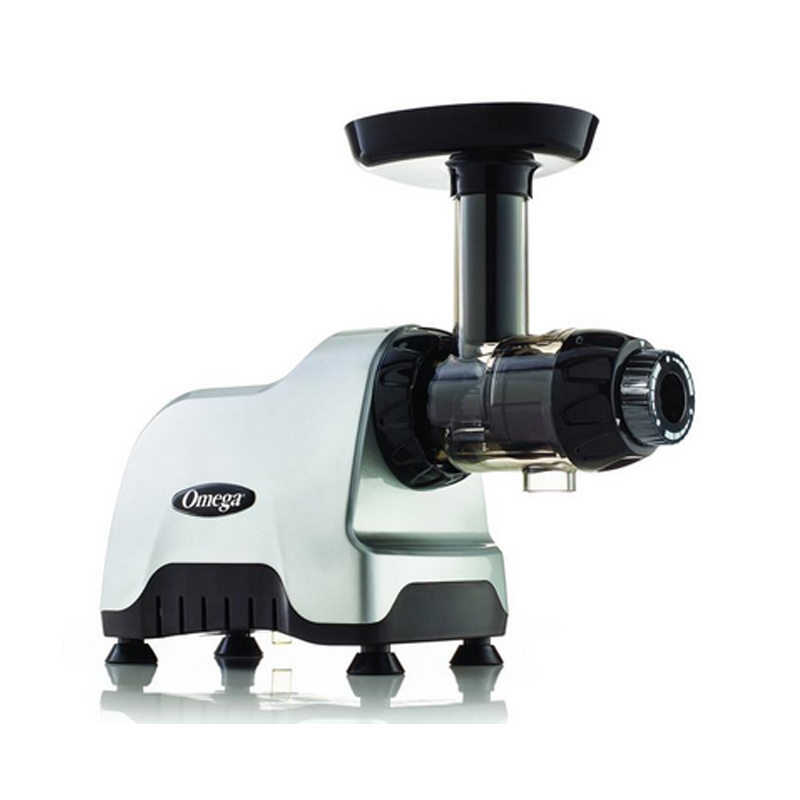 スロージューサー オメガ コンパクト シルバー Omega Juicers CNC80S Compact Slow Speed Multi-Purpose Nutrition Center Juicer 家電