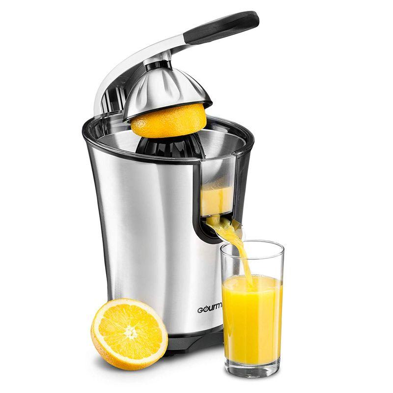 電動シトラスジューサー ステンレス Gourmia EPJ100 Electric Citrus Juicer Stainless Steel 家電