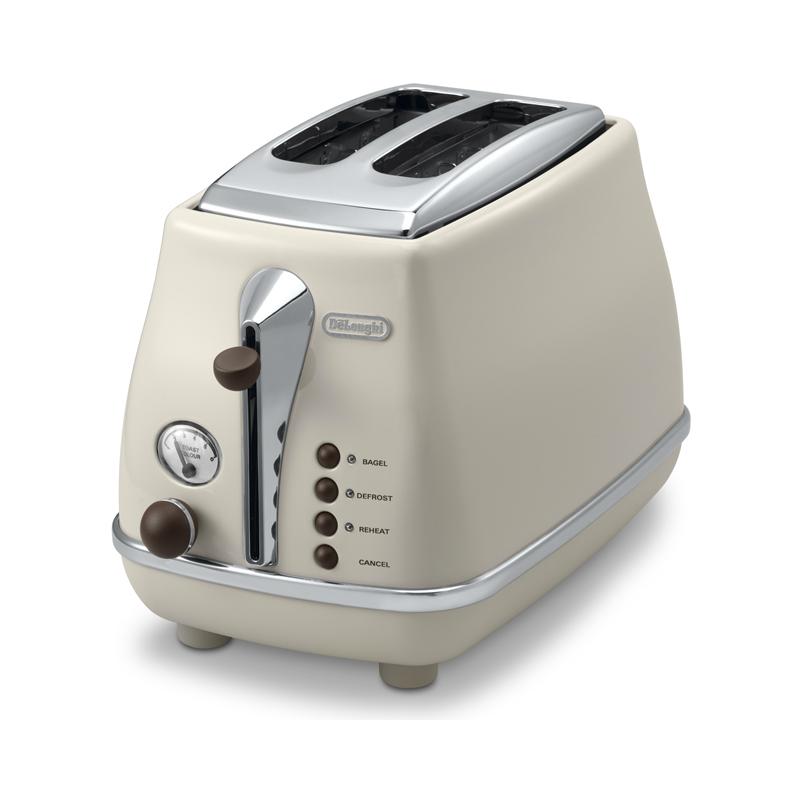 デロンギ トースター 2枚焼き De'Longhi 2-Slice Toaster 家電