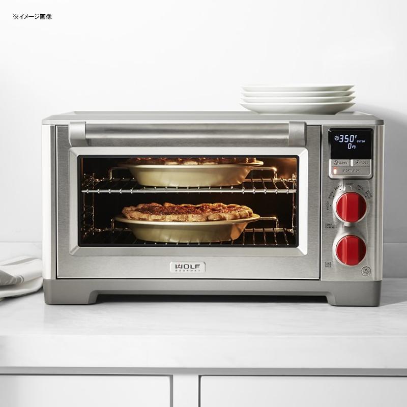 オーブン コンベクション 温度計付 プローブ 肉料理 Wolf Gourmet WGCO100S Countertop Oven with Convection 家電