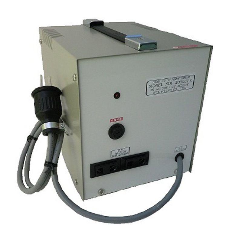 変圧器 アップトランス 入力電圧100V 出力電圧230 220 240V 出力容量2000W