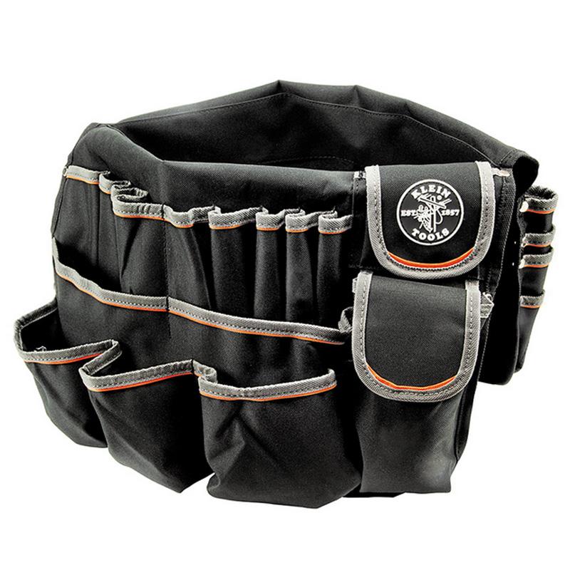 工具バッグ クラインツール 45ポケット ポリエステル ツールバッグ アメリカ製 Kleintools Bucket Bag 55448