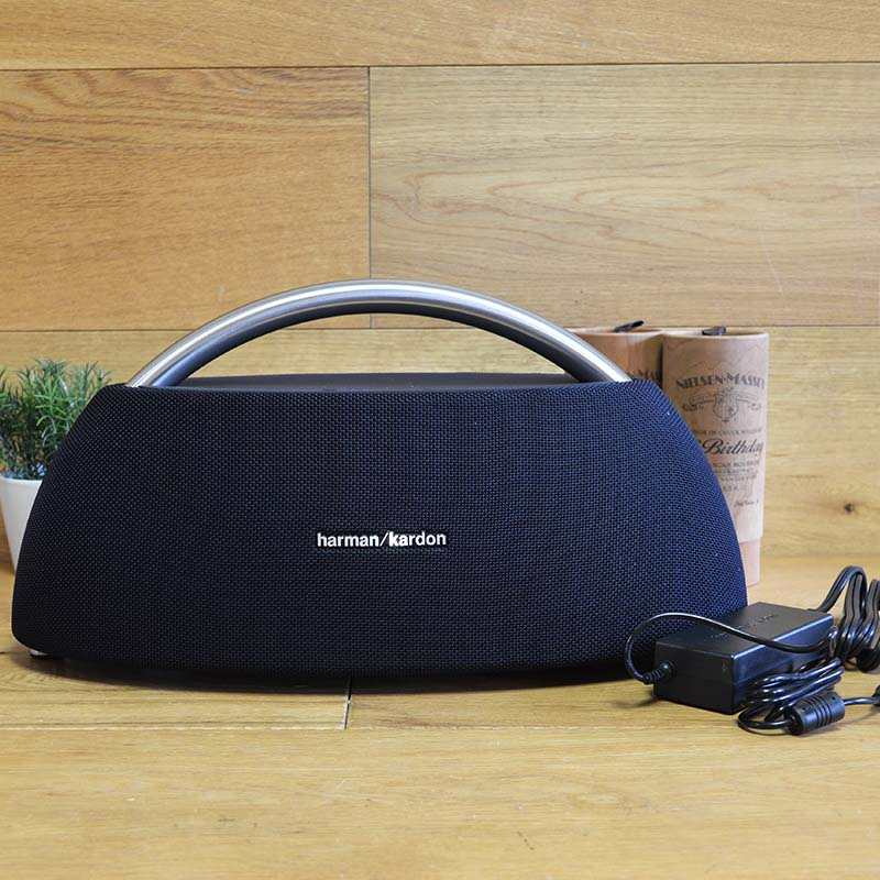 Herman Bluetooth portable speaker stainless steel steering wheel Harman  Kardon GO+Play Mini Black GO+Play Portable BT Speaker