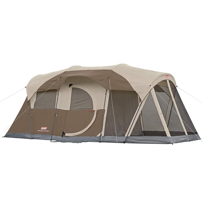 コールマン ウェザーマスター テント 最大6人 アウトドア キャンプ Coleman WeatherMaster 6-Person Tent with Screen Room