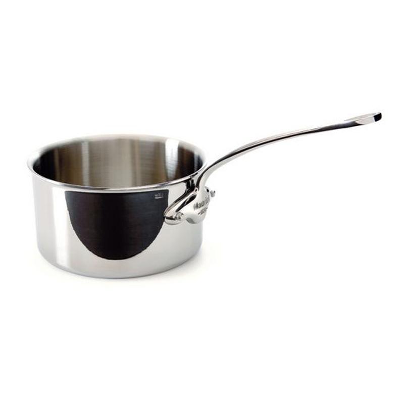ソースパン 片手鍋 14cm 1.1L ステンレス 5層 IH対応 ムビエル フランス Mauviel 5210.14 M'cook Saucepan
