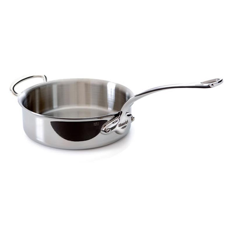 【送料無料】 ソテーパン 28cm 5.9L ステンレス 5層 IH対応 ムビエル フランス Mauviel 5211.28 M'cook Saute pan with helper handle