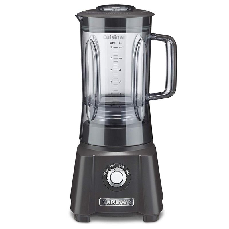 ブレンダー ミキサー 1.4L BPAフリー クイジナート Cuisinart CBT-600GRY Velocity Blender, Gray 家電