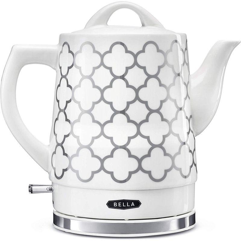 ベラ 電気ケトル セラミック 1.5L BELLA Electric Tea Kettle, 1.5 LITER 家電