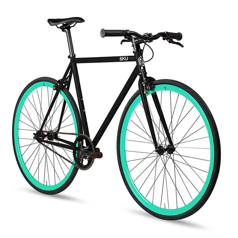 ピストバイク 自転車 シングルスピード 6KU Fixed Gear Single Speed Urban Fixie Road Bike