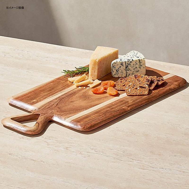 サービングボード アカシア 木製 チーズ 生ハム バゲット Crate and Barrel Chase Acacia Serving Board