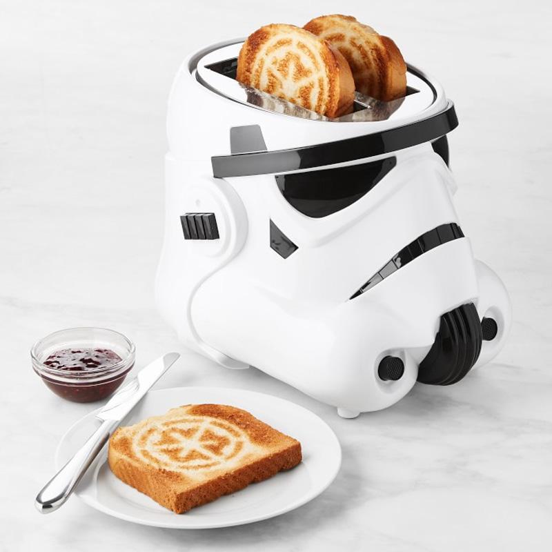 スターウォーズ ストームトルーパー トースター 2枚焼 Star Wars Storm Trooper Toaster 家電