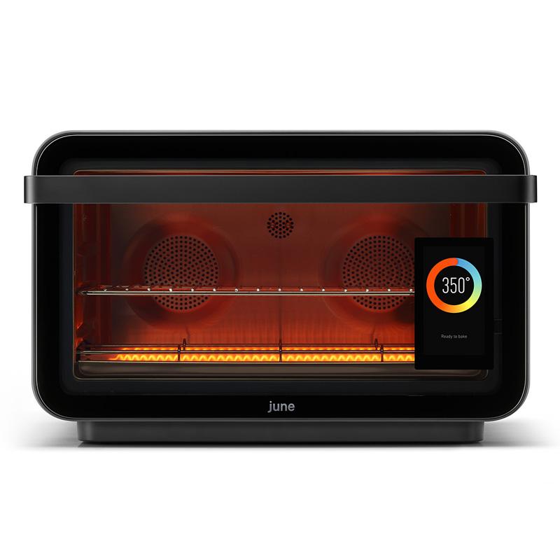 【送料無料】 多機能オーブン グルメパッケージ コンベクション エアフライヤー ディハイドレーター スロークッカー ブロイラー トースター 100以上のプログラム 専用アプリで操作 June Oven plus Gourmet Package 家電