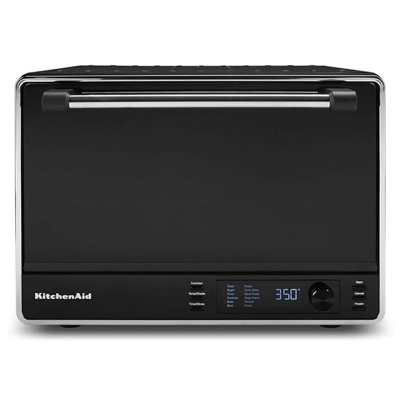 デュアルコンベクションオーブン メニュー12種 ブラック キッチンエイド KitchenAid KCO255BM Dual Convection Countertop Toaster Oven 家電