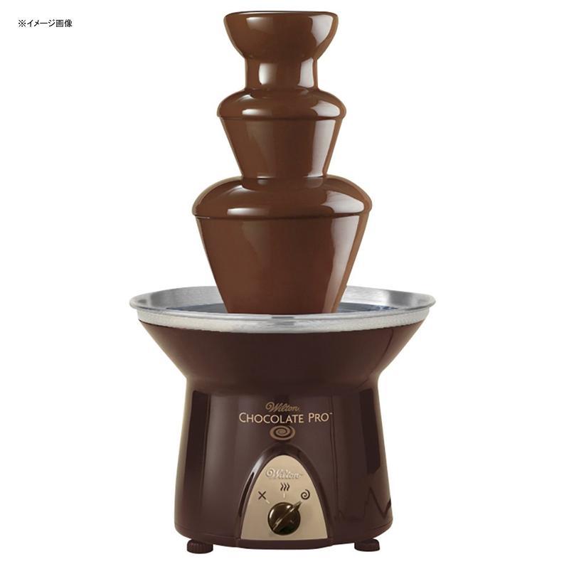 チョコレートファウンテン 3段 高さ40cm ウェディング 誕生日 パーティー Wilton Chocolate Pro Chocolate Fountain - Chocolate Fondue Fountain, 4 lb. Capacity 家電