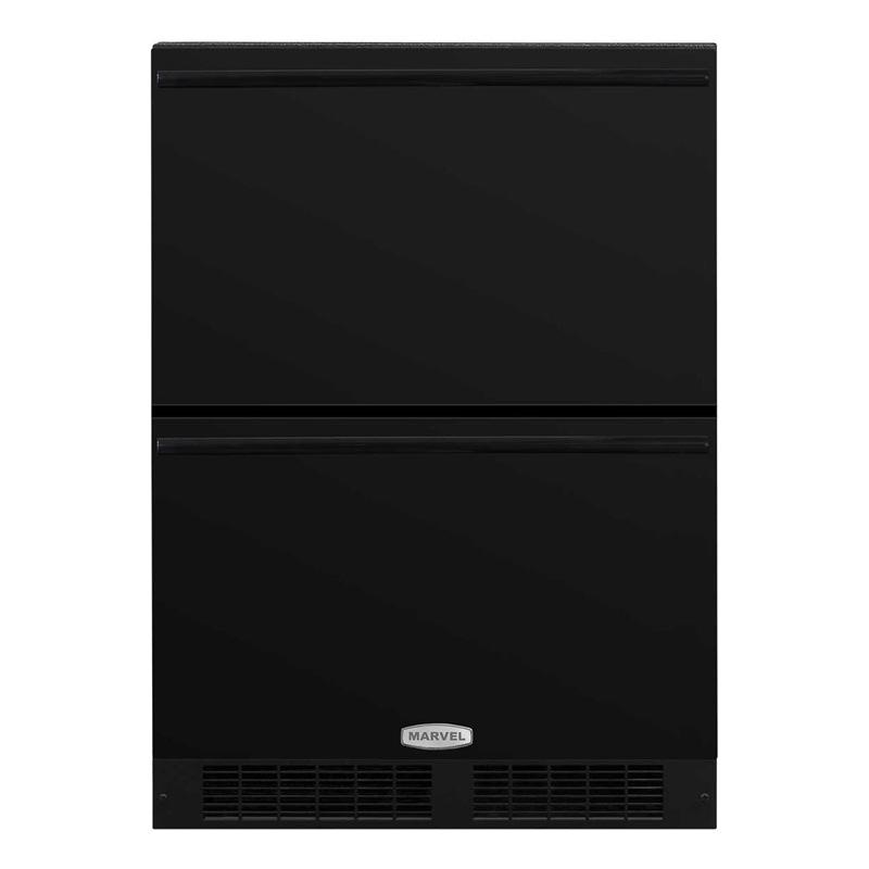 冷蔵庫 ビルトイン 2段 引き出し式 マーベル Marvel ML24RDS3NB 家電