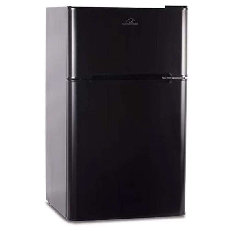 冷蔵庫 冷凍庫付 90L Commercial Cool Double Door 3.2 cu. ft. Compact Refrigerator with Freezer CCRD32B 家電
