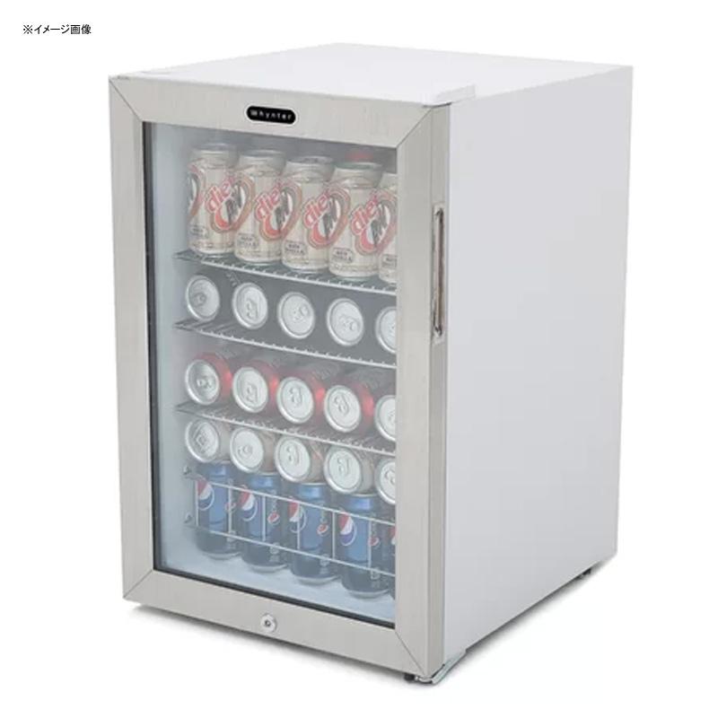 冷蔵庫 最大90缶 ガラスドア ホワイト 白 Whynter 90 Can Beverage Refrigerator Whynter BR-091WS 家電