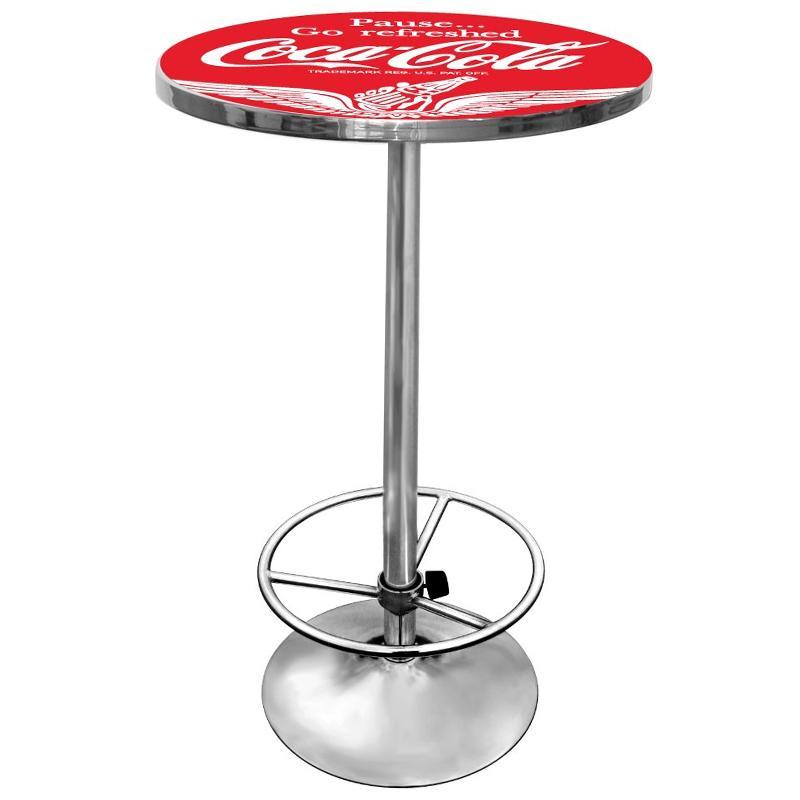 コカコーラ バーテーブル 丸型 パブテーブル レトロ アンティーク ビンテージ Coca-Cola