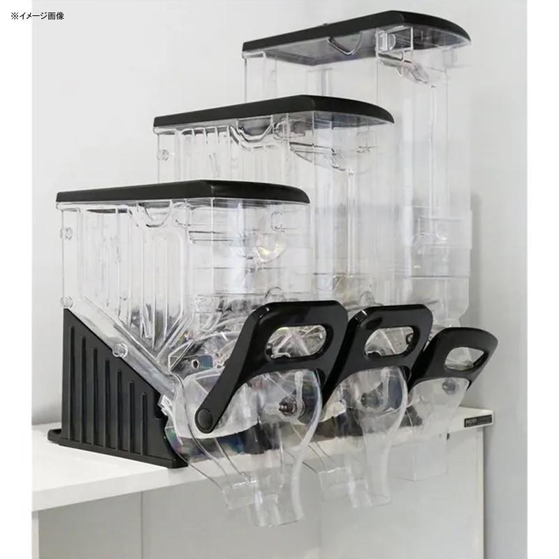 フードディスペンサー ワイド 幅15cm 壁掛け可能 シリアル コーヒー サイズ3種類 Java Hill Dispenser 6 Inch Wide Retail Bulk Dry Food and Bean Dispensers
