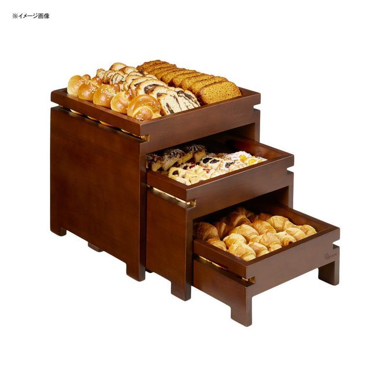 ディスプレイトレイ トレー 3段 バンブー 竹 陳列 ショップ カフェ レストラン バイキング ビュッフェ Rosseto BD151 Natura Nite Dark Bamboo 3-Tier Nesting Box Stand Set 640BD151