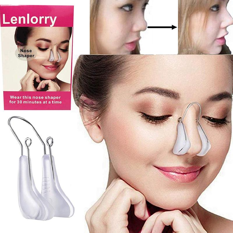 <title>送料無料 きれいな鼻に ノーズシェイパー リフタークリップ 高い鼻 プチ整形 Lenlorry 新品 Nose Shaper Lifter Clip Beauty Up Lifting Soft Safety Silicone Rhinoplasty Bridge Straightener Corrector Slimming Device for Wide Crooked</title>